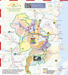 Mapa Turistico de Blumenau