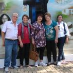 Parque Colina  - Nova Trento (Pedro Pereira, Luzia Moser Pereira, Maria Luiza Moser Pereira, Silvia Spengler e Elfi Teske)