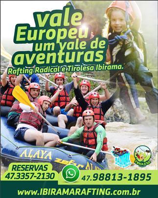 Apiúna - Banner da Radical Rafting