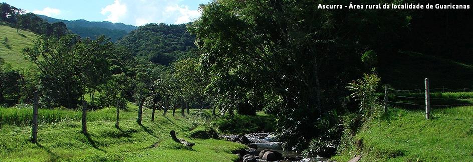 Ascurra - Localidade de Guaricanas com legenda