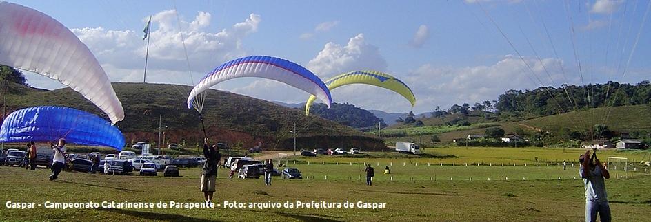 Gaspar - Campeonato Catarinense de Parapente - Legenda