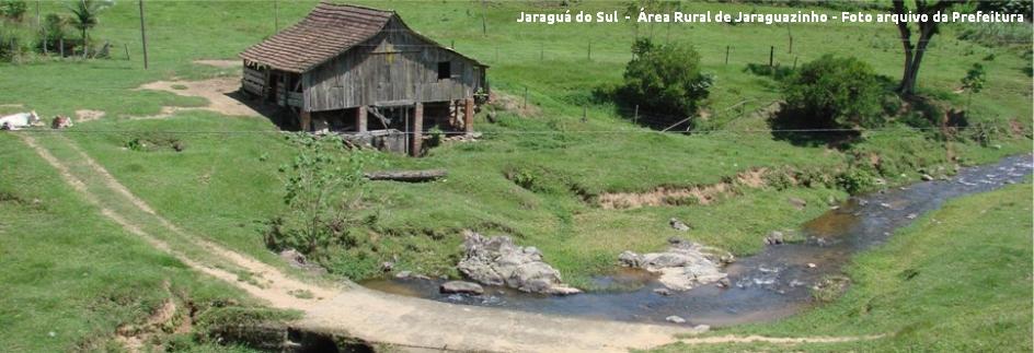 Jaraguá do Sul - Área Rural de Jaraguazinho com legenda