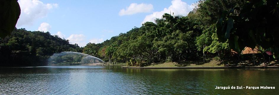 Jaraguá do Sul - Parque Malwee com legenda