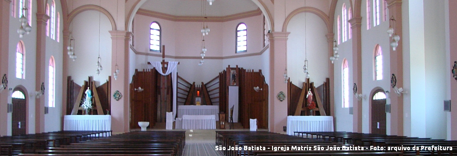São João Batista - Igreja Matriz São João Batista