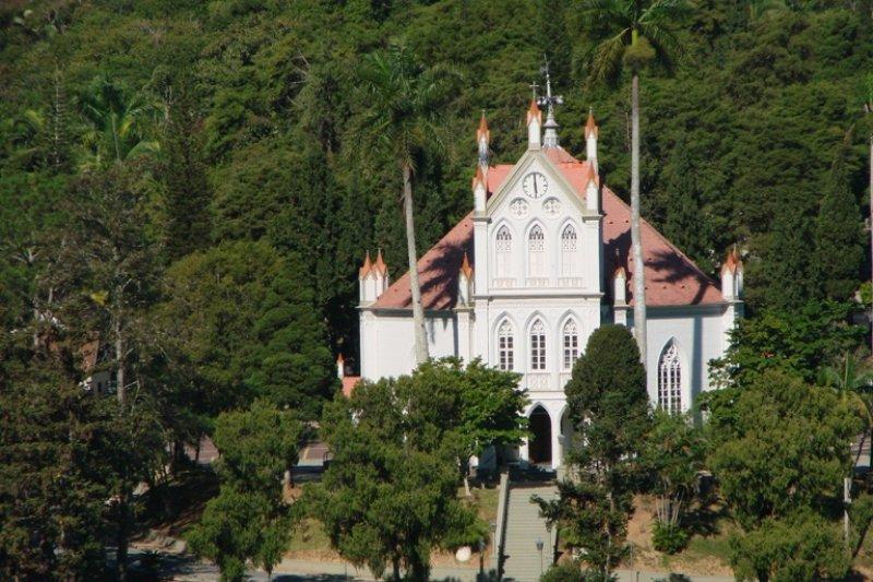 Resultado de imagem para igreja luterana centro em Blumenau